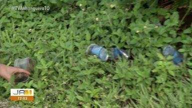 Lixo no Parque de Exposições Agropecuárias de Paraíso preocupa moradores - Lixo no Parque de Exposições Agropecuárias de Paraíso preocupa moradores