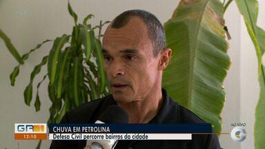 Secretário executivo de segurança pública percorreu bairros de Petrolina após a chuva - Aracelly Romão explica a situação e se tem famílias desabrigadas ou desalojadas?