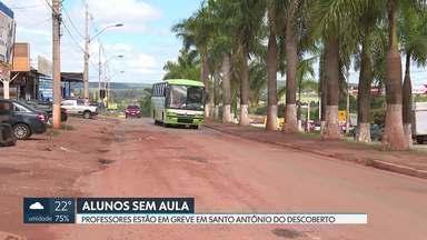 Alunos de Santo Antônio do Descoberto (GO) ainda não terminaram ano letivo de 2019 - Motivo são as greves dos professores ao longo do ano. Moradores reclamam de outros problemas na cidade.
