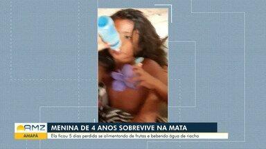 Menina de quatro anos sobrevive perdida durante cinco dias em mata - Menina de quatro anos sobrevive perdida durante cinco dias em mata