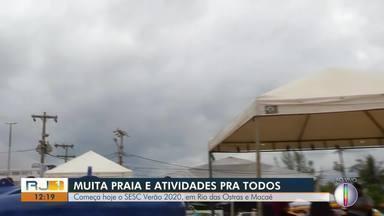 Começa neste sábado o SESC VERÃO 2020, em Rio das Ostras e Macaé - Programação é gratuita.