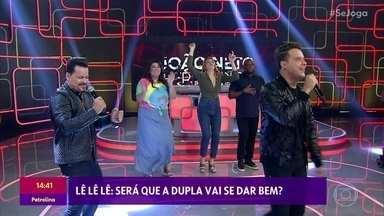João Neto e Frederico cantam 'Lê Lê Lê' - Confira!