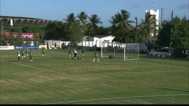 Veja como foi a goleada do Botafogo-PB sobre o Serrano-PB em jogo-treino na Maravilha - Belo faz 15 a 0 no Lobo da Serra, e Piza aproveita para testar 17 jogadores