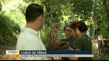 Férias na Bica tem curso para estudantes universitários em João Pessoa - O curso é no zoológico da Bica.
