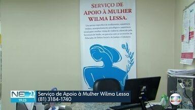 Serviço de apoio a vítimas de violência funciona no Hospital Agamenon Magalhães - Centro Wilma Lessa ajuda mulheres que sofreram algum tipo de problema