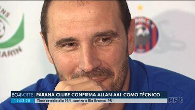 Paraná Clube confirma novo técnico - Allan Aal vai comandar a equipe na partida contra o Rio Branco no dia 19/01.
