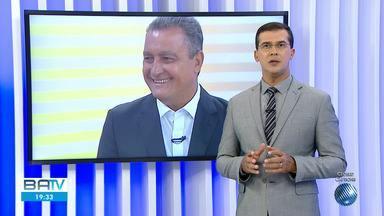 Governador Rui Costa tem alta e retorna a Salvador após cirurgia para retirada de nódulo - Ele também fez retirada das glândulas mamárias. Médico do governador descartou câncer.