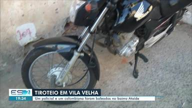 Policial Civil de folga é baleado em Vila Velha, ES - O policial e outro baleado foram socorridos para um hospital da cidade. Nenhum suspeito foi encontrado ainda.