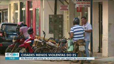 Rio Bananal foi um dos homicídios menos violentos do ES em 2019 - Primeiro homicídio deste ano foi registrado no fim de semana.