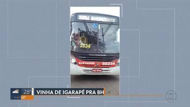 Passageiros reclamam de ônibus quebrado na rodovia Fernão Dias - Vídeo mostra perrengue enfrentado pelos passageiros.