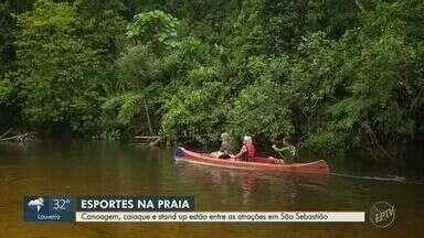 EPTV na Praia 2020 visita destino em São Sebastião - Praia do Toque-Toque Pequeno é escolhida pelo público para o terceiro dia do quadro.