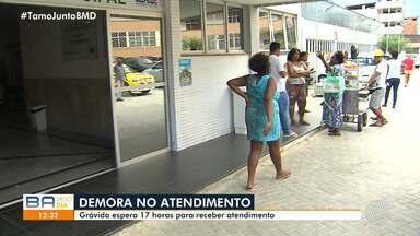 Grávidas esperam mais de 15h por atendimento em maternidade de Salvador - Confira.