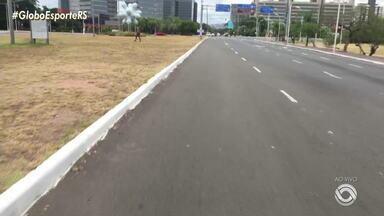 Uma das atividades de Porto Alegre é o passeio de bicicleta pela Orla do Gasômetro - Assista ao vídeo.