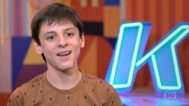 Conheça Bruno Zicman - Cantor de 13 anos é de São Paulo – SP