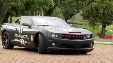 'Transformers' da vida real: carrões comprados com dinheiro do crime se tornaram viaturas - Conheça os carros que eram usados por bandidos que gostavam de ostentar e se transformaram em viaturas de luxo, agora usadas pela polícia.