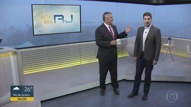Bom dia Rio - Edição de segunda-feira, 13/01/2020 - As primeiras notícias do Rio de Janeiro, apresentadas por Flávio Fachel, com prestação de serviço, boletins de trânsito e previsão do tempo.