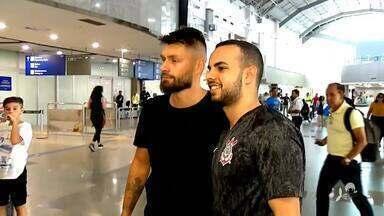 Reforço para o ataque do Ceará, Rafael Sóbis desembarca em Fortaleza - Veja os detalhes com Lucas Catrib.