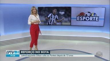 Lateral-esquerdo Gilson volta ao Botafogo-SP depois de 13 anos - Ele é mais um reforço para o Paulistão 2020.