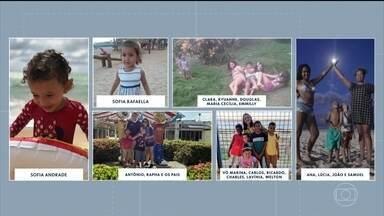 Telespectadores mostram crianças curtindo férias - Bom Dia PE pediu para que público envie fotos do verão dos pequenos.