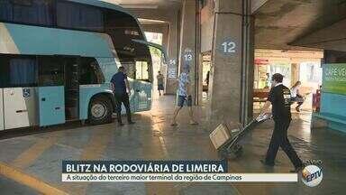 Veja o movimento e a estrutura da rodoviária de Limeira no período de férias - Série de reportagens da EPTV mostra situação das cinco maiores rodoviárias da região de Campinas (SP) durante o período de férias.