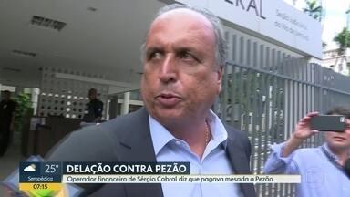 """Operador financeiro de Cabral diz que pagava mesada a Pezão - """"Serjão"""" disse que Pezão recebeu propina de 2007 a 2013."""