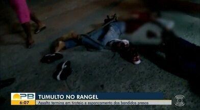 Dupla é presa após troca de tiros durante tentativa de assalto a supermercado, em JP - Homem que viu o assalto, do outro lado da rua, atirou contra os suspeitos e começou uma troca de tiros.