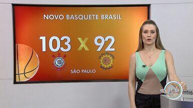Corinthians vence São José pela NBB - O Alvinegro encerrou a sequência negativa de quatro derrotas na competição ao vencer o duelo por 103 a 92.
