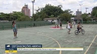 Inscrições abertas para esportes e atividades físicas na Abor em Santos - Associação Beneficente Osvaldo de Rosis oferece atividades físicas e práticas de esportes.
