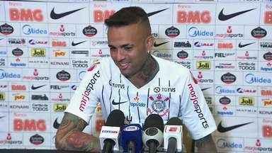 Corinthians apresenta Luan, jogador campeão olímpico em 2016 - Corinthians apresenta Luan, jogador campeão olímpico em 2016