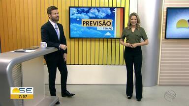 Confira a previsão do tempo em Sergipe com Michele Costa - Confira a previsão do tempo em Sergipe com Michele Costa.