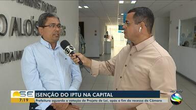 Prazo para pagamento do IPTU de Aracaju em cota única termina nesta quarta-feira (15/01) - Descontos podem ser de até 7,5%.