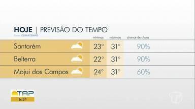 Confira a previsão do tempo para Santarém e região - Saiba tudo sobre o tempo e o clima da região oeste do Pará.