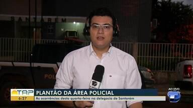 Plantão policial: confira as principais ocorrências desta quarta-feira - Saiba todas as informações da polícia com Gustavo Campos.