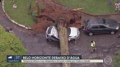 Solução para problemas causados pela chuva, em Belo Horizonte, ainda deve demorar - Segundo secretário de obras da capital, obras ainda vão ser licitadas.