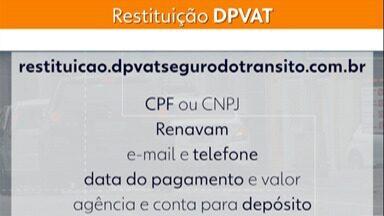 Começa nesta quarta a devolução do dinheiro do DPVAT - A devolução será para quem pagou a taxa com o valor mais caro, o antigo.