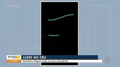 Moradores relatam luzes no céu em Campo Grande - Luzes são satélites de internet e que sobrevoam o Brasil