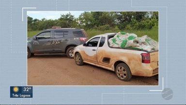 Casal é preso com inseticida contrabandeado do Paraguai em Ponta Porã - Casal é preso com inseticida contrabandeado do Paraguai em Ponta Porã