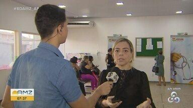 Vacina pentavalente começa a ser distribuída nas Unidades Básicas Saúde de Macapá - Em falta desde o 2º semestre de 2019, prefeitura montou cronograma para ofertar doses em todas as UBSs.