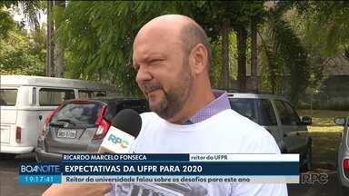Reitor da UFPR fala sobre os desafios para 2020 - Ricardo Marcelo Fonseca fala da expectativa depois de um ano em que a UFPR enfrentou dificuldades por causa de orçamento.