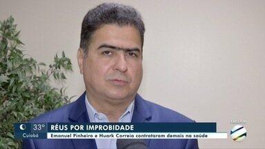 Prefeito de Cuiabá e ex-secretário de Saúde viram réus por improbidade administrativa - Prefeito de Cuiabá e ex-secretário de Saúde viram réus por improbidade administrativa