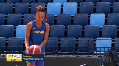 Do samba e do balé para o basquete - Raphaella Monteiro vai disputar o pré-olímpico com a seleção brasileira e espera brilhar nos Jogos em Tóquio.