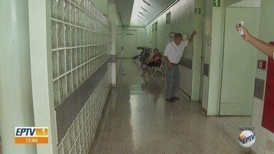 Pacientes reclamam de ventiladores desligados em unidades de saúde em Ribeirão Preto - Aparelhos de ar condicionado quebrados também são alvos de reclamação.