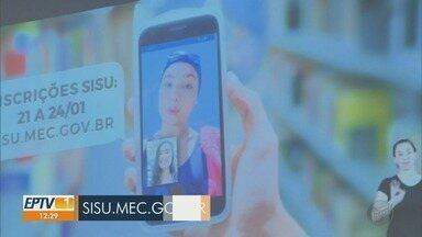 MEC divulga número de vagas do Sisu 2020/2021 - Inscrições serão realizadas de 21 a 24 de janeiro, gratuitamente, pela internet.