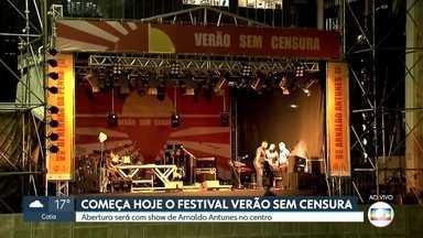 Festival Verão Sem Censura começa nesta sexta (17) - Organizado pela Prefeitura de São Paulo, com o apoio da Globo, o evento tem como proposta acolher todas as manifestações culturais e promover a liberdade de expressão.