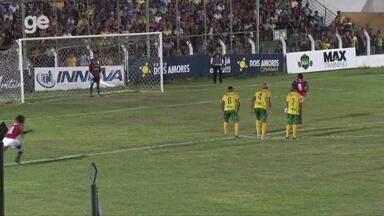 Eduardo marca o primeiro gol do Campeonato Piauiense 2020 - Eduardo marca o primeiro gol do Campeonato Piauiense 2020