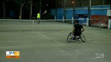 Maranhense é premiado em competição nacional de tênis - Ele é um exemplo de superação.