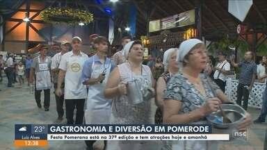 37ª Festa Pomerana tem programação neste fim de semana em Pomerode - 37ª Festa Pomerana tem programação neste fim de semana em Pomerode