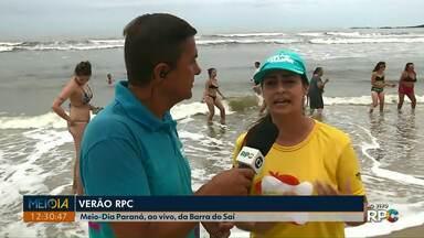 Verão RPC traz informações do litoral no Meio-Dia Paraná - Jasson Goulart apresenta as atrações e programação no balneário de Barra do Saí.