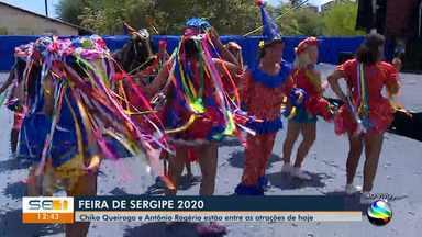 Feira de Sergipe reúne atrativos da cultura do estado - Feira de Sergipe reúne atrativos da cultura do estado.