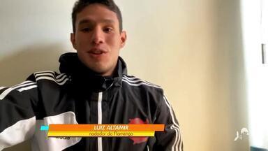 Luiz Altamir fecha com Flamengo na natação - Confira as novidades do atleta cearense